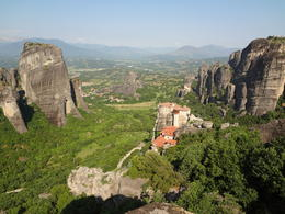 Panaramic view point at Meteora , Michael G - June 2011