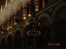 Galileo's chandelier inside the cathedral., Nabarun N - June 2008