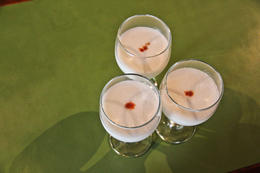 Pisco sours - January 2014