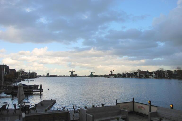 Los t�picos Molinos de viento - Amsterdam