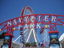 Navy Pier Park -- such a vibrant place!, JULIE P - July 2009