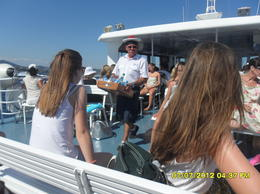 On the boat. , Catorina - August 2012