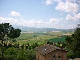 View from the charming village, Pienza. , Catherine Y - June 2014