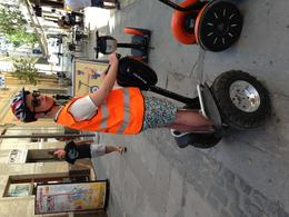 This is Adam getting in a bit of practice outside the Viator office. Segways are so easy to get to grips with, you'll want one for sure! , Kenneth H - July 2014