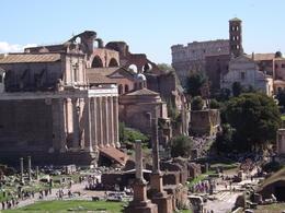 Roman Forum , Romona - October 2016