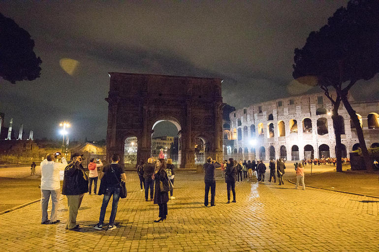 Rome by Night Tour Including Dinner photo 27