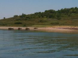 Sandy beach, Spectacle Island - June 2011