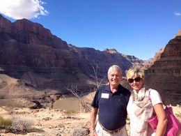 Keith and Beth enjoying the view , Beth B - October 2015