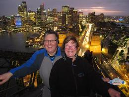 Mick and Fiona on the bridge climb 20/12/12 , Michael M - January 2013
