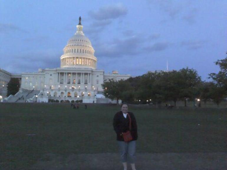 The Capitol at night - Washington DC