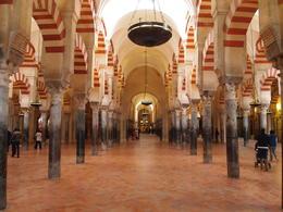 Moorish arches with Roman columns, Rachel - January 2014