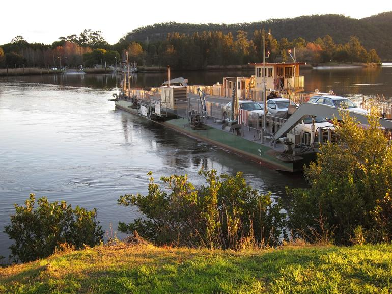 The Ferry at Wisemans Ferry -