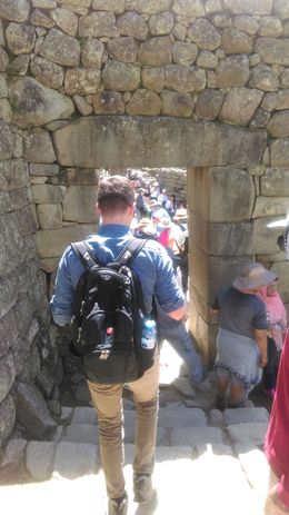 It was a wonderful experience to go through the original front gate of Machu Picchu, where so many ancient travelers used to enter! , Heather H - May 2016