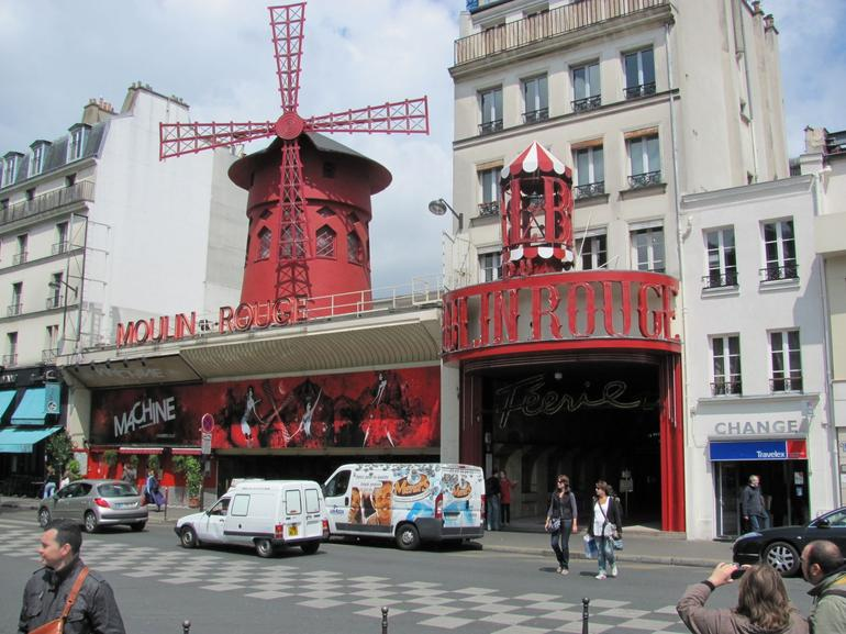The Moulin Rouge by day - Paris