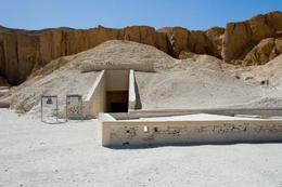 Tomb of Tutankhamun in the Valley of the Kings - June 2011