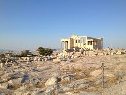 The Erechtheion at the top of the Acropolis - September 2013