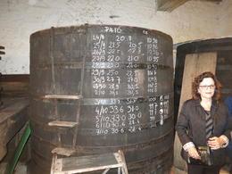 Oldest barrel used today in Burgundy , David S - October 2016