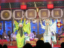 Chinese Opera performance , Patricia P - December 2016