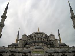 Blue mosque external view, Behnam Akhavan - June 2010