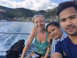 The boat ride with our fabulous guide, Birgit. , Grethel R - September 2015