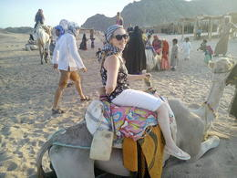 My daughter about to set off on short camel ride. , Mark N - September 2016