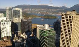 City view from Vancouver Lookout , Kayla C - November 2011
