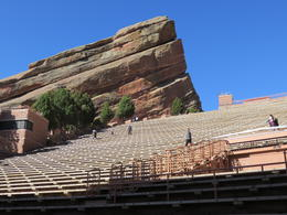 The Red Rock Amphitheatre and Seating area...the Beatles and Willie Nelson. , ANDRIS T - May 2017