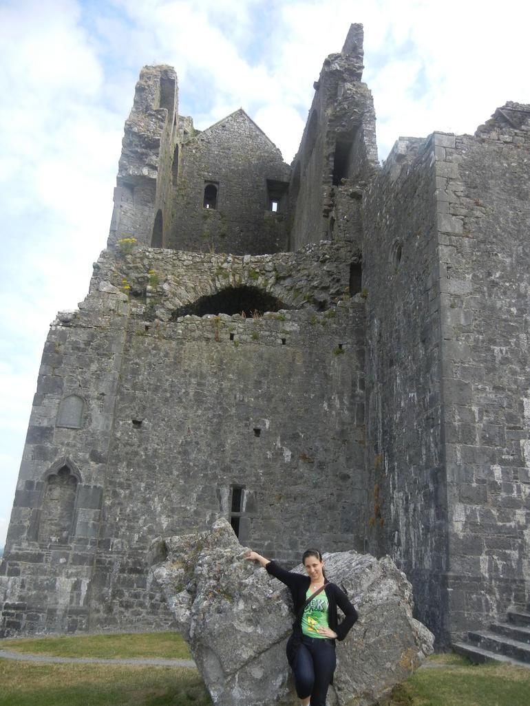 First stop Rock of Cashel - Dublin