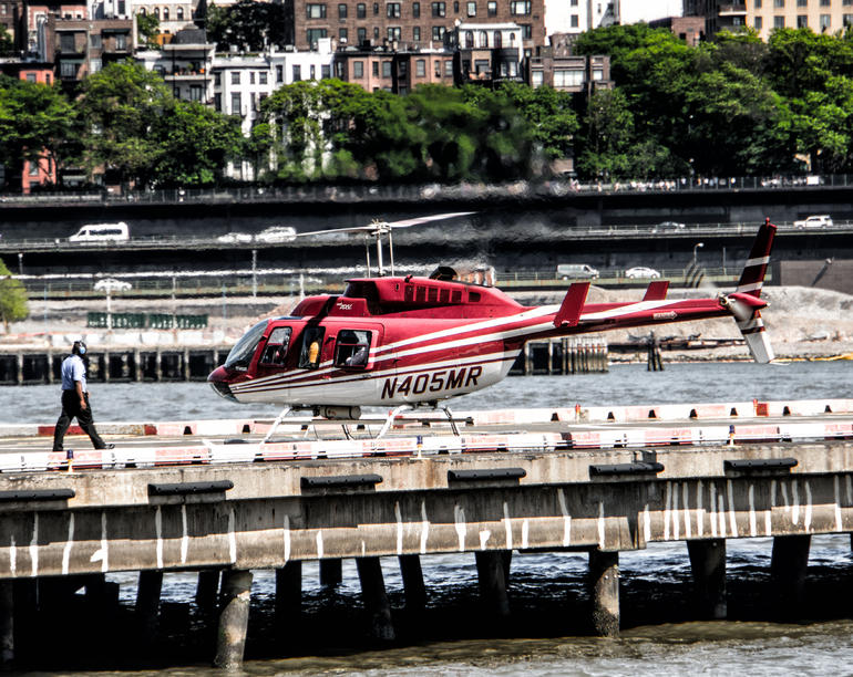 Heliport in Manhattan - New York City