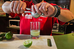 Learning how to make pisco sours - January 2014