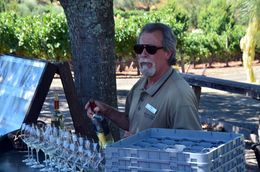 Stop for some wine tasting and a lesson , Ivkovic - August 2015