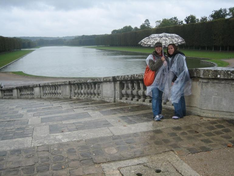 Outside the Versailles gardens - Paris