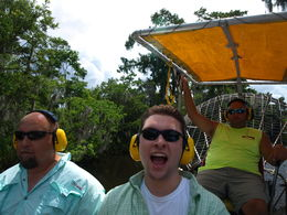 Small-Group Bayou Airboat Ride with Transport from New Orleans, Tim P - June 2016