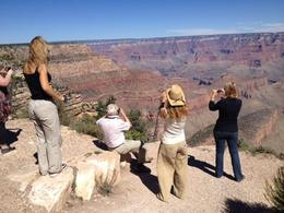 Our tour guide brought us to a 'secret' spot at the canyon for one-of-a-kind views!, World Traveler - January 2014
