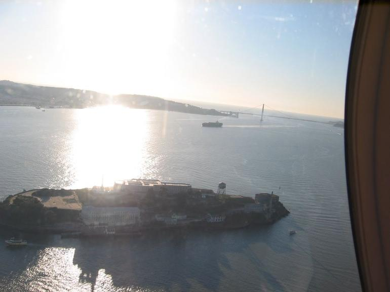 SF Helicopter Tour - Alcatraz & Golden Gate Bridge - San Francisco