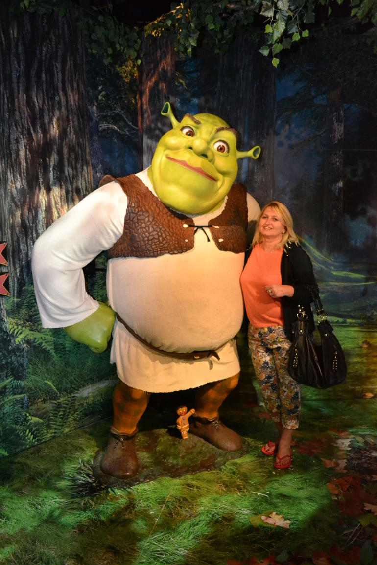 Shrek in Wonderland - London