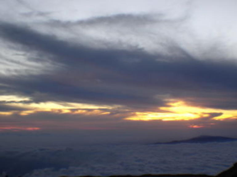 Sunset at Mauna Kea - Big Island of Hawaii