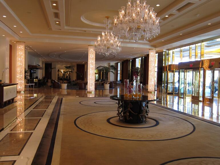 The Grand Entrance -