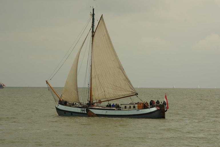 Traditional dutch ship. - Amsterdam