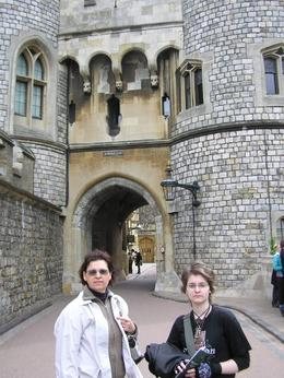 Me and my mum at the castle, Dunja Z - May 2009