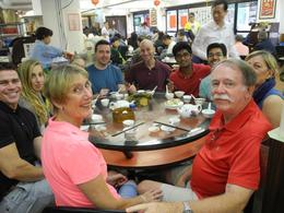 Cathie and David with the group enjoying Yum Cha , Cathie M - May 2017