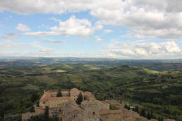 Amazing views from San Gimignano , CLAYTON A - October 2017