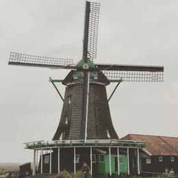One of the windmills in Zaanse Schans. , Brad B - November 2017