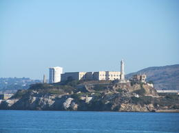 Alcatraz from the fisherman's wharf dock , Jo G - September 2012