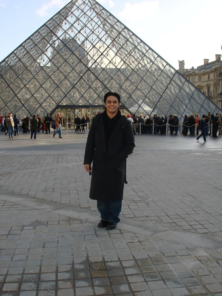At the Louvre Museum - Paris