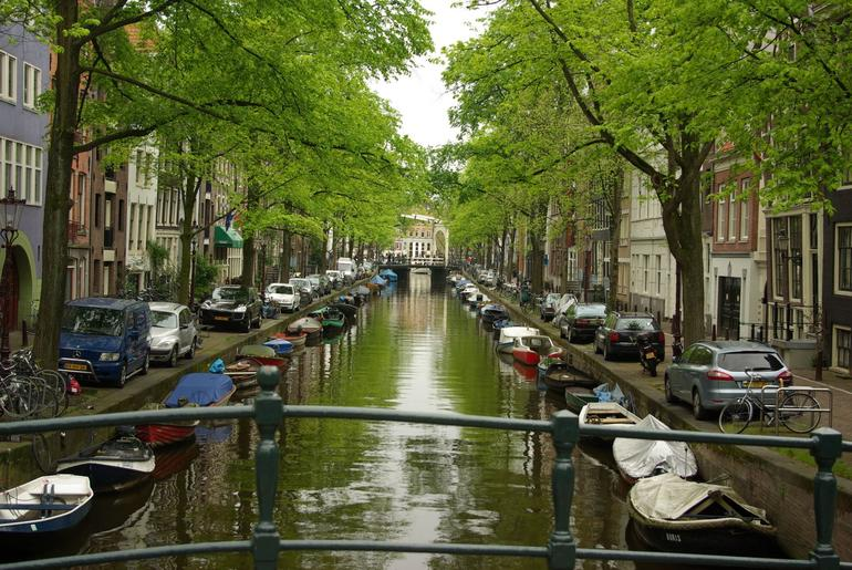Canal in Amsterdam - Amsterdam