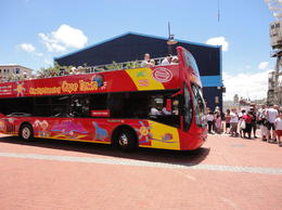 The Cape Town Sightseeing Bus at the V&A Waterfront, Nick - January 2012