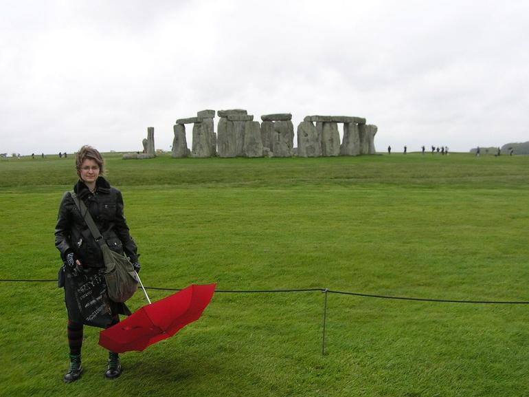 Dunja at the Stonehenge - London
