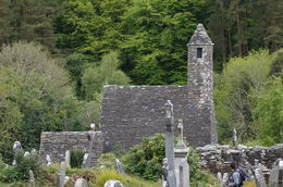 One of the churches at Glendalough , John A - August 2016
