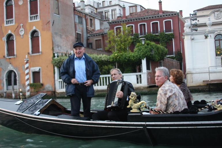 Gondola Performers - Venice
